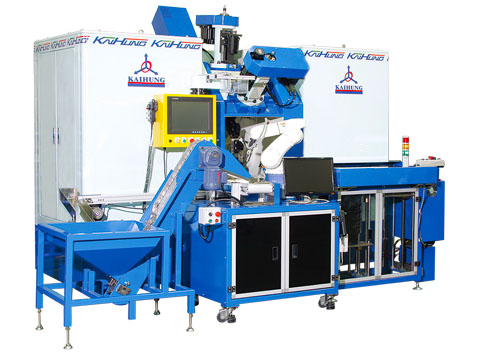 Machine Product - Multi-spindles Rotary Transfer Machine - Trunnion